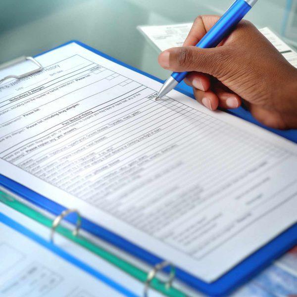Medical regulation documentation