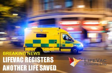 LifeVac registers another life saved by EMS
