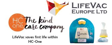 LifeVac saves first life within HC-One – The UK's largest care home provider