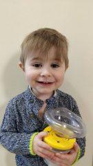 21 month old boy saved in choking emergency