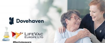 LifeVac saves first life within Dovehaven Care Home
