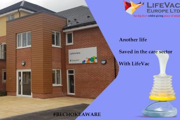 LifeVac saves another life in the care sector!