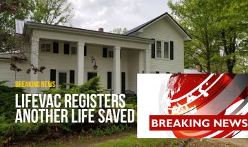 LifeVac proudly announces another life saved in a choking emergency