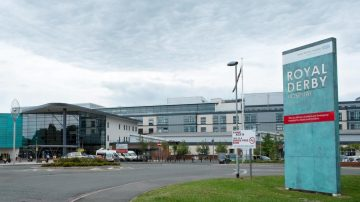 Patient at Royal Derby Hospital died after choking on a sandwich.