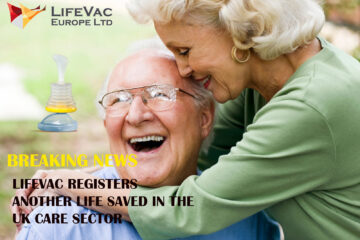 LifeVac saves another life in the care sector