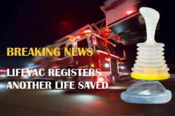 LifeVac saves 3 year old girl
