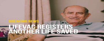 LifeVac Saves 77 Year Old Man from Choking