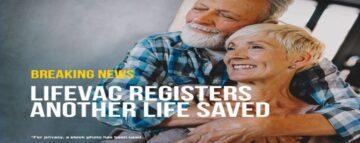 Husband saves wife's life with LifeVac
