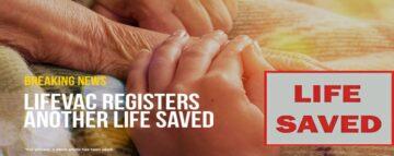 LifeVac saves 80 year old woman